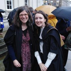 Many congratulations to Dr. Maire Ni Leathlobhair
